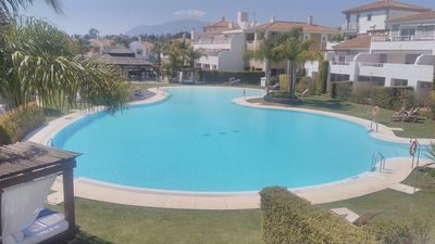 Photo for Luxury two bedroom apartment with pool, golf courses and beaches, near Marbella.