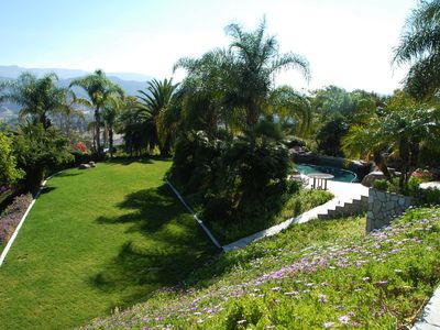 Via Cerro Vista: Wine Country Paradise -Magnificent Garden with ...