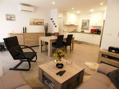 Photo for Renewed apartment, 1 bedroom at 100 m. from the Roses beach,