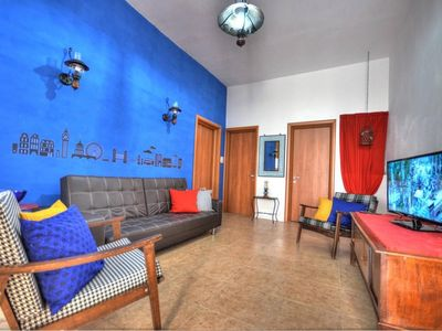 Photo for Spacious Triq is-Sorijiet apartment in St Julian's with WiFi, integrated air conditioning & private…