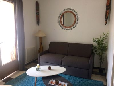 Photo for Air-conditioned apartment located 150 meters from the beach