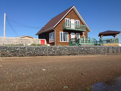 Photo for Beautiful Cottage On Sand Strip Between Ocean And Salted Marsh