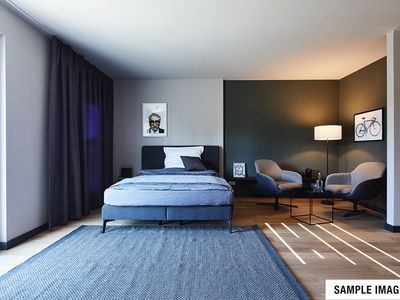 Photo for NEW OPENING / Böblingen Airfield / Design-Serviced-Apartment / LUXURY 60-65 sqm