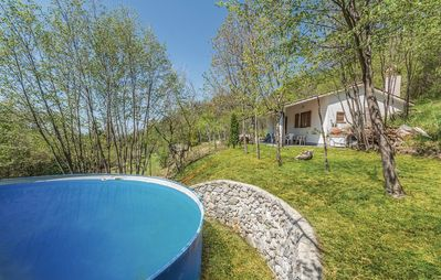 Photo for Enjoy the mountain air and the panorama of this detached holiday home on 28. 800 square meters of land - to the Adriatic Sea is only 20 km!