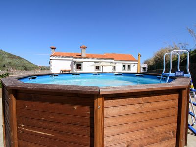Photo for Sunny, dog-friendly villa w/pool, garden terrace, outdoor kitchen, valley views!