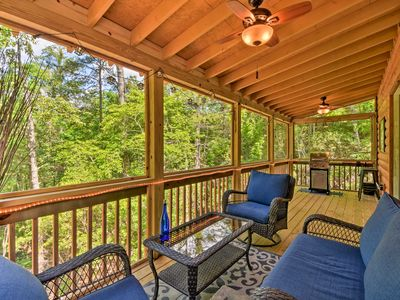 Photo for NEW! Custom Mtn Cabin by Hiking/Motorcycle Routes!