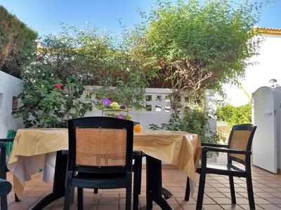 Photo for Cosy chalet near the beach with Internet, satellite TV, airco, parking place