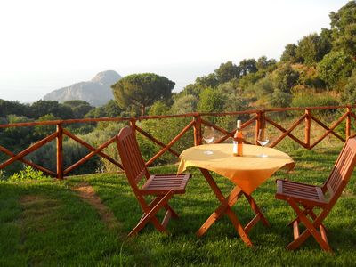 Photo for New apartment with sea views, and Rocca mountain and garden.