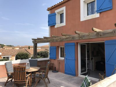 Photo for NARBONNE-PLAGE : Nice 2-bedroom flat