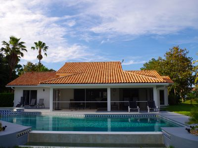 Photo for Waterski, Golf and Tennis Onsite!  Two Master Suites!  Private pool and spa!