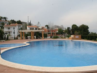 Photo for Duplex Estibaliz - Wifi, French-Spanish channels, heated pool, padel