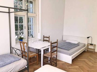 Photo for Family Room with Shared Bathroom and Garden View - Guesthouse Château Abraham