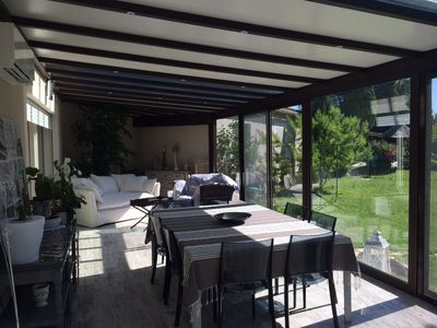 Photo for BEAUTIFUL HOUSE, CLOSED SWIMMING POOL CLOSE TO ALPILLES, CLIMATISEE, IN THE COUNTRYSIDE