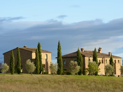 Photo for PODERE SALICOTTO - CELESTE Stylish Comfort Double Bedroom in Tuscan Villa w/view