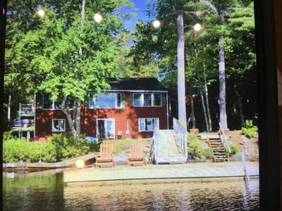 Photo for Beautiful Lakefront House On Lake Pemaquid Maine