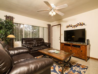 "Photo for Economy pricing with everything included: 2 bedrooms, 55"" TV, WiFi, Dishwasher"
