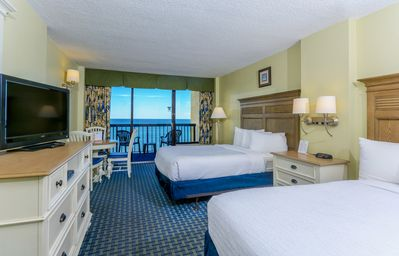 Photo for Just what you need for a getaway. Oceanfront Room with Great Amenities & Rates!
