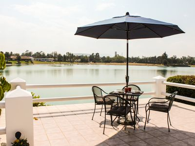 Photo for Amazing Lakefront home in San Gil Golf club, unique location.