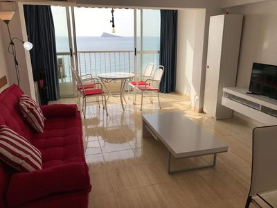 Photo for Apartment with sea views (free parking) in Levante Beach, Benidorm