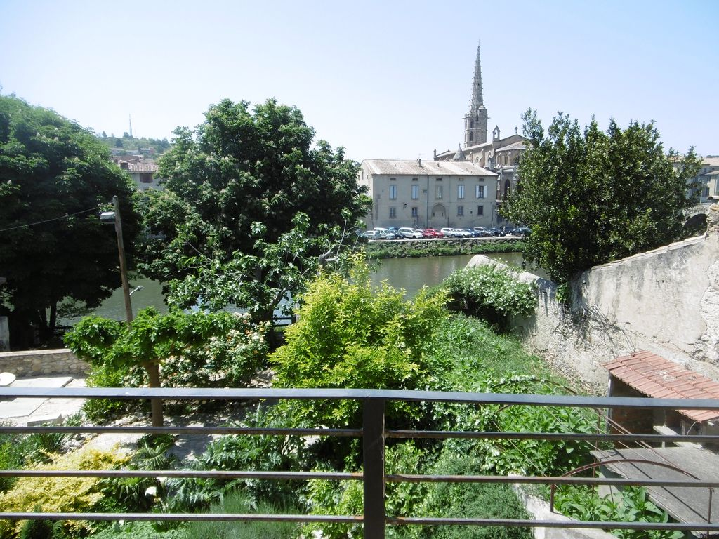 Limoux Apartment Rental   Classic France Balcony View Of Garden, River And  Town. Ideal