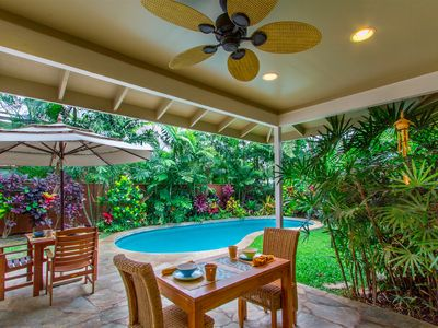 Photo for Secluded Home w/ Pool in Gated Community, Steps From Beautiful Kailua Beach