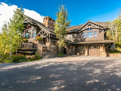 Photo for Slope Side at Bachelor Gulch, Ski-in, Ski-out, Hot Tub, 6 Bedrooms, Sleeps 16