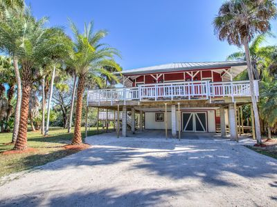 Photo for Waterfront Key West-Style Secluded Home in North Fort Myers;
