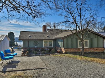 Photo for Charming Home on Ohio River w/Water Views & Porch!