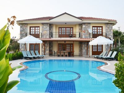 Photo for Villa 'D2K' is a 4 bedroom exclusive villa renowned for its guitar shaped pool!