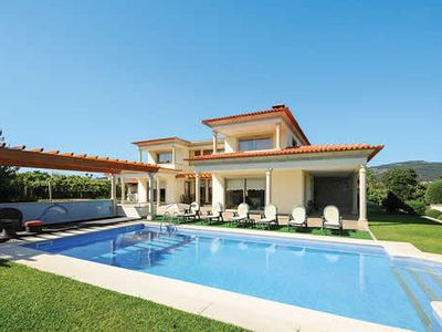 Photo for Beautiful villa w/ games room, tennis court, free Wi-Fi, BBQ and hot tub