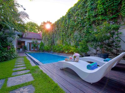 Photo for 2 Bedroom Gorgeous Pool Villa Seminyak