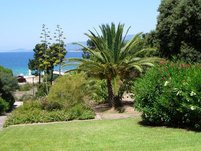 Photo for Beautiful villa rental in front of a sandy beach with stunning views