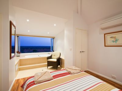 Photo for Osprey Holiday Village Unit 104 - Luxury spa bath with a view
