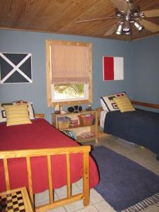 Kids Room (2 twins and extra twin mattress under bed)