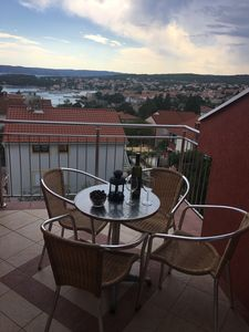 Photo for Apartment Ivan: Beautiful View Adriatic Walking Distance To Beach & KRK Village