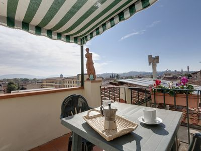 Photo for Terrazzino apartment in San Marco with WiFi, air conditioning, balcony & lift.