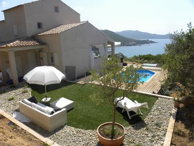 Photo for SPLENDID VILLA - SWIMMING POOL / JACUZZI - BEACH A 5 MIN - 14 PEOPLE