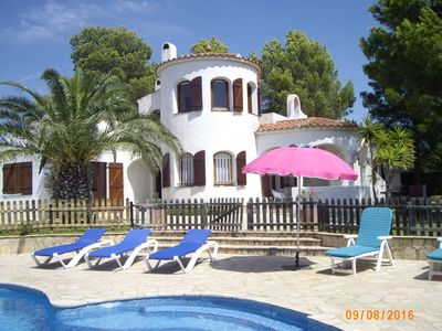 Photo for VILLA OF CHARACTER WITH PRIVATE SWIMMING POOL, WIFI - CLOSE TO SANDY FIN