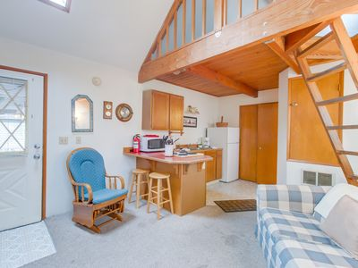 Photo for NEW LISTING! Dog-friendly cottage w/ shared hot tub - just 3 blocks to the beach
