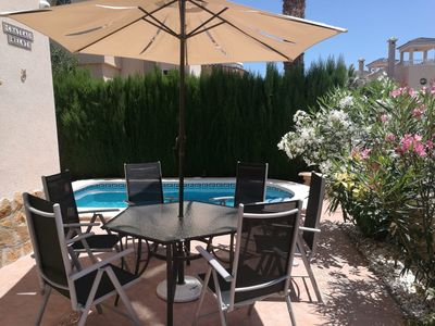 Photo for beautiful villa with private pool in Guardamar del Segura, El Raso, near Alicante