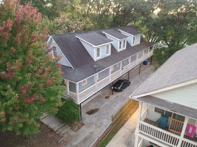 Aerial View of the entire duplex