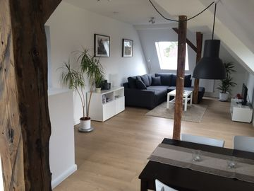 Apartment Kiel-Wik // Quiet and centrally located in the Maritime Quarter