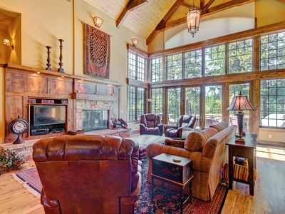 Photo for FREE SkyCard Activities - Luxury Home, Private Hot Tub, Huge Private Porch - Marksberry Lodge