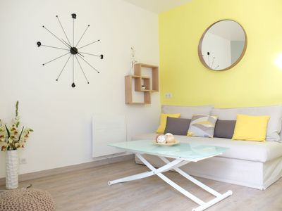 Photo for Nice quiet and bright apartment close to the center of Reims and the TGV station