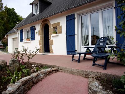 Photo for On the road of beaches fenced detached cottage 6 people in the Ria D'Etel