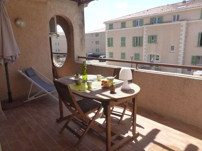 Photo for Bright apartment T2 full heart St Florent with terrace