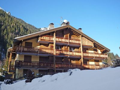 Photo for Apartment 598 m from the center of Chamonix with Parking, Internet, Balcony (102733)