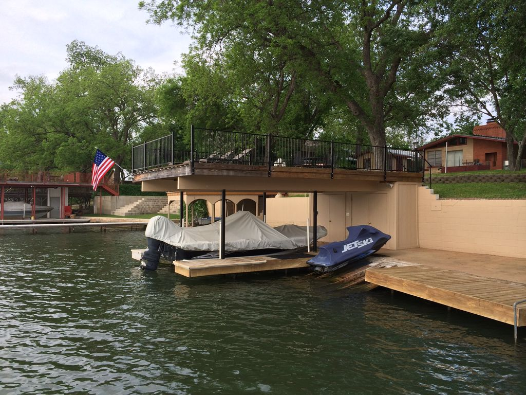 Waterfront Family Friendly Lake House On Lbj Awesome Upper