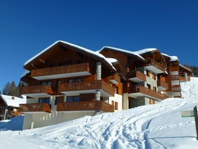 Photo for Apartment Paradiski 4 rooms 8 people 50m2 ski at the foot Vallandry