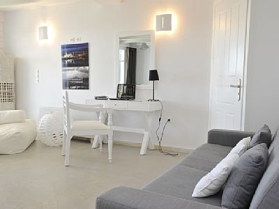 Photo for Ambassador Villa, overlooking the most famous beach of Paros